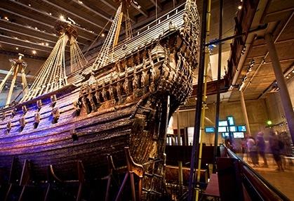 Boat in museum