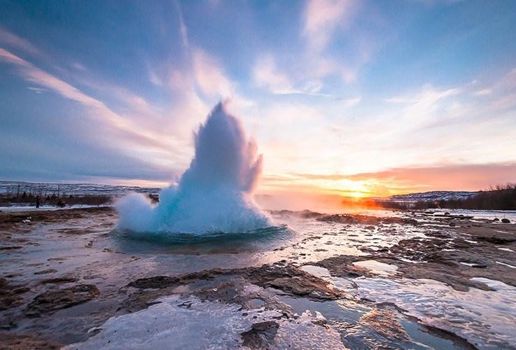 Large geyser