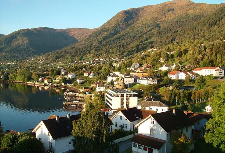 View of Balestrand, Norway