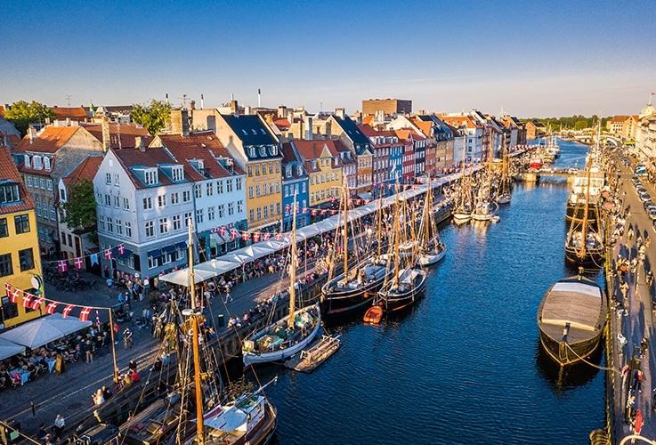 Copenhagen canal Nyhavn