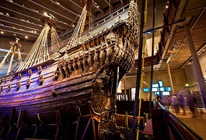 Ship in  museum