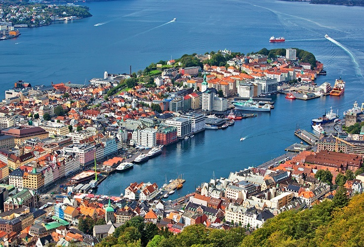 Norwegian peninsula