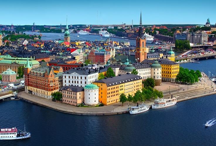 Famous Stockholm Skyline