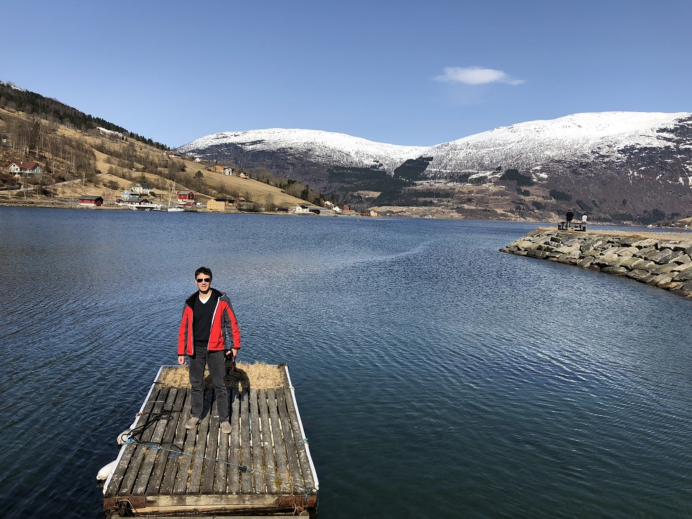 Beautiful spot by the Nordfjord