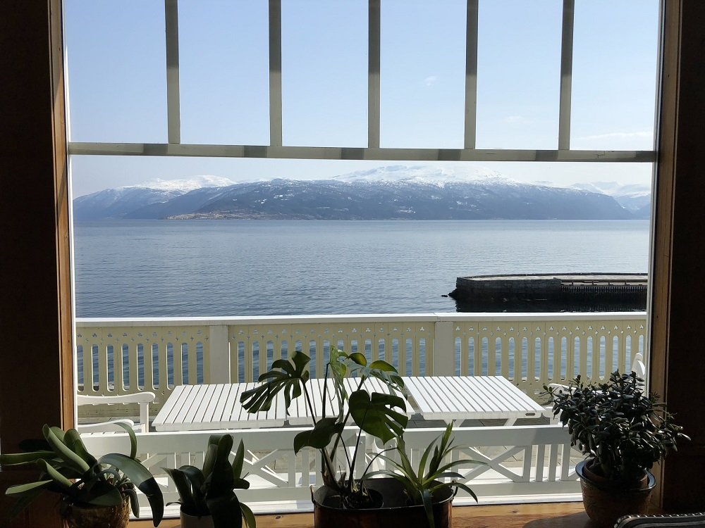 Beautiful spot by the Sognefjord